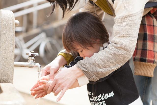 手洗いママサポート