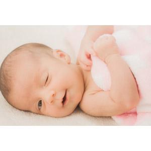 赤ちゃんウインク