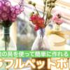 [工作動画]ペットボトルで可愛い花瓶が!アレンジも楽しめます♪