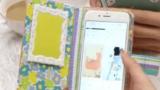 [工作動画] 布と厚紙で作る!オリジナルの手帳型スマホケース