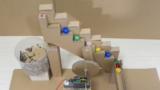 [工作動画]難易度超高ッ!ダンボールビー玉コースターを作ろう